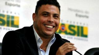 Ronaldo: el 'Fenómeno' confirmó su visita al Perú