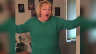 YouTube: así reaccionó esta abuela al ser sorprendida con 'regalo' de Navidad