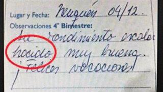 Error ortográfico de una profesora de Lengua desata polémica