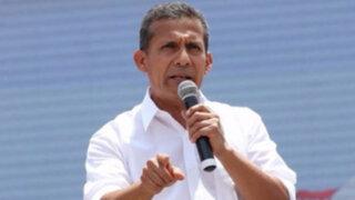 Ollanta Humala anuncia aumento del sueldo mínimo a 850 soles