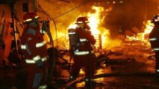 Iquitos: incendio destruye casona considerada patrimonio nacional