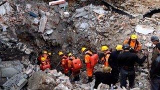 China: 19 personas quedaron atrapadas tras derrumbe en mina