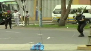 La Molina: hallan granadas de guerra y bombas lacrimógenas