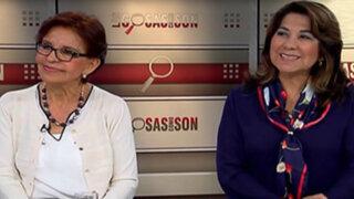 Elecciones 2016: Mercedes Cabanillas y Martha Chávez hablan del panorama electoral