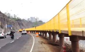Municipio de Lima: Color amarillo en nuevo malecón es reglamentario