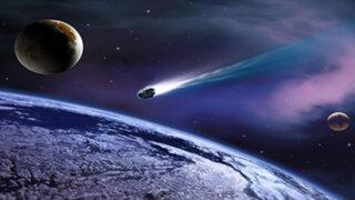 La NASA grabó el preciso momento en que un meteorito se aproxima a la Tierra