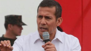 Ollanta Humala vuelve a referirse a candidatos