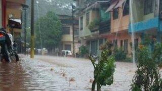 Tingo María: decenas de viviendas quedan inundadas por desborde de ríos