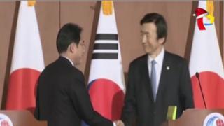 Corea del Sur y Japón logran acuerdo sobre esclavas sexuales
