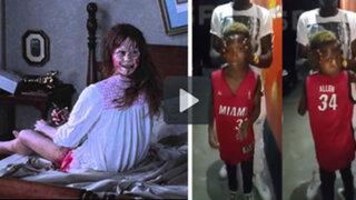 "VIDEO: niño desata polémica en Internet al girar la cabeza igual que en ""El Exorcista"""
