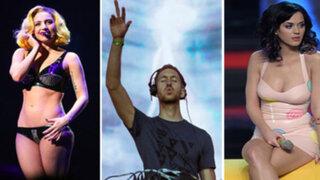 FOTOS: ¿Quiénes fueron los 10 artistas musicales mejor pagados del 2015?