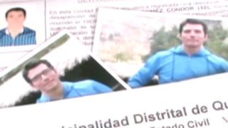 Huancayo: novio desapreció a solo unos días de celebrar su boda