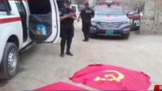 Encuentran granada, banderolas y propaganda subversiva en SMP