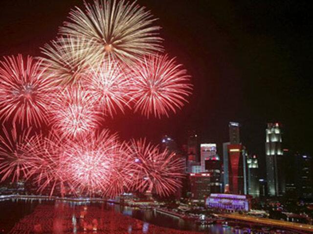 FOTOS: así se vive la llegada del Año Nuevo en diferentes partes del mundo