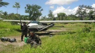 Vraem: avioneta boliviana fue intervenida en Satipo