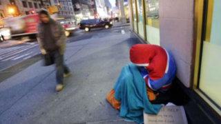 Nueva York: decreto obligará a proteger a indigentes en invierno