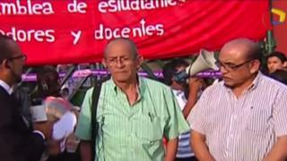 Sanmarquinos atrincherados exigen salida de Pedro Cotillo