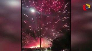 Brasil: pirotécnicos defectuosos arruinan celebración de Año Nuevo