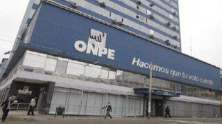 Denuncian a la ONPE por presunta irregularidad en adjudicación de contrato