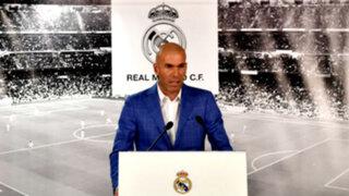 Bloque Deportivo: Zinedine Zidane es el nuevo DT del Real Madrid
