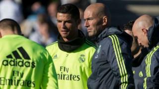Real Madrid: así fue el primer entrenamiento de Zidane como DT