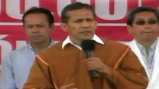 Ollanta Humala exhorta a rectores a acatar Ley Universitaria
