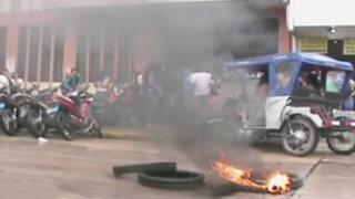Iquitos: estudiantes toman universidad nacional de la Amazonia Peruana