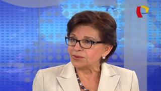 Mercedes Cabanillas no postulará al Congreso por Alianza Popular