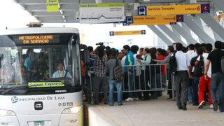Metropolitano: continúa malestar de usuarios pese a nuevo servicio