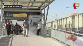 Metropolitano: malestar en usuarios por insoportable calor en estaciones