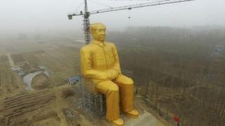 China: polémica por gigantesca estatua de Mao Tse Tung