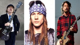 FOTOS: los pedidos más excéntricos e impensados de las estrellas de rock