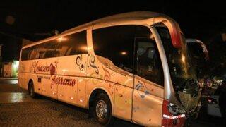 GPS confirma que chofer de bus de Corazón Serrano iba a más de 100 km/h