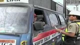 Callao: preocupación en autoridades de transporte por falta de policías