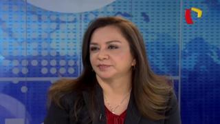 """Marisol Espinoza: """"Acuña no usa recursos del Estado o ilegales"""""""