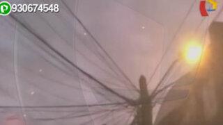 ¿Ovnis? extraños objetos son grabados en el cielo de Lima