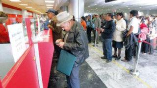 ONP adelantará pago de abril a pensionistas del decreto ley 19990