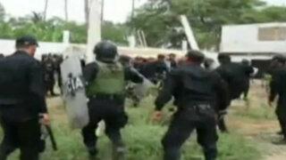 Piura: violento desalojo de invasores en terreno de exalcalde