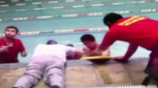 San Borja: brazo de niña quedó atorado en ducto de piscina