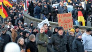 Alemania: con protestas culpan a refugiados por ola de agresiones sexuales