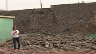 Cercado de Lima: paredes de colegio Pedro Coronado se desplomaron