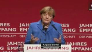 Merkel preocupada por crisis de refugiados en Europa