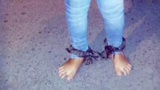 Independencia: detienen a padres de familia por encadenar a su hija de 15 años