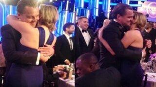 Espectáculo Internacional: así fue el reencuentro entre Leonardo DiCaprio y Kate Winslet