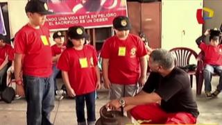 Atención padres: brindan curso de 'Bomberitos' para niños