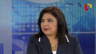 """Ana Jara: """"Existió discriminación contra Delia Flores"""""""