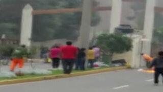 Chosica: invasores intentaron tomar terreno a balazos
