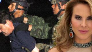 Investigan presuntos negocios entre Kate del Castillo y 'El Chapo' Guzmán