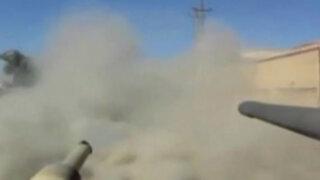Irak: una GoPro grabó así los combates en Ramadi