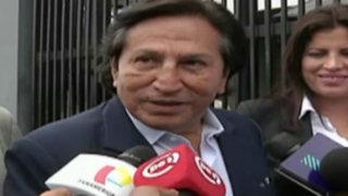 Alejandro Toledo minimiza resultados de última encuesta